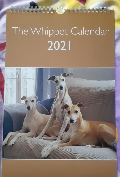 Whippet Calendar 2021 Cover