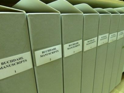 Buchdahl manuscripts