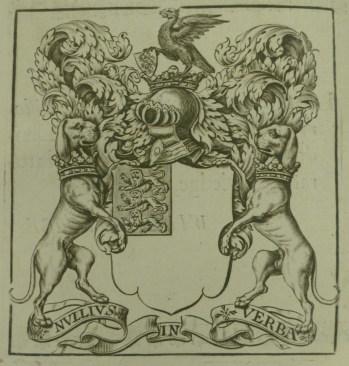 Royal society arms