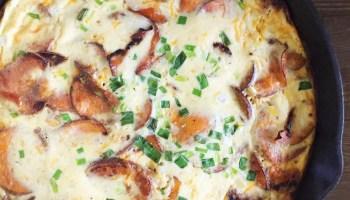 Southwest-Style Sweet Potato Frittata