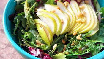 Tricolore Pear Salad