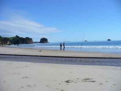 Whiritoa Beach fishing