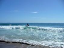 Whiritoa Beach surfing