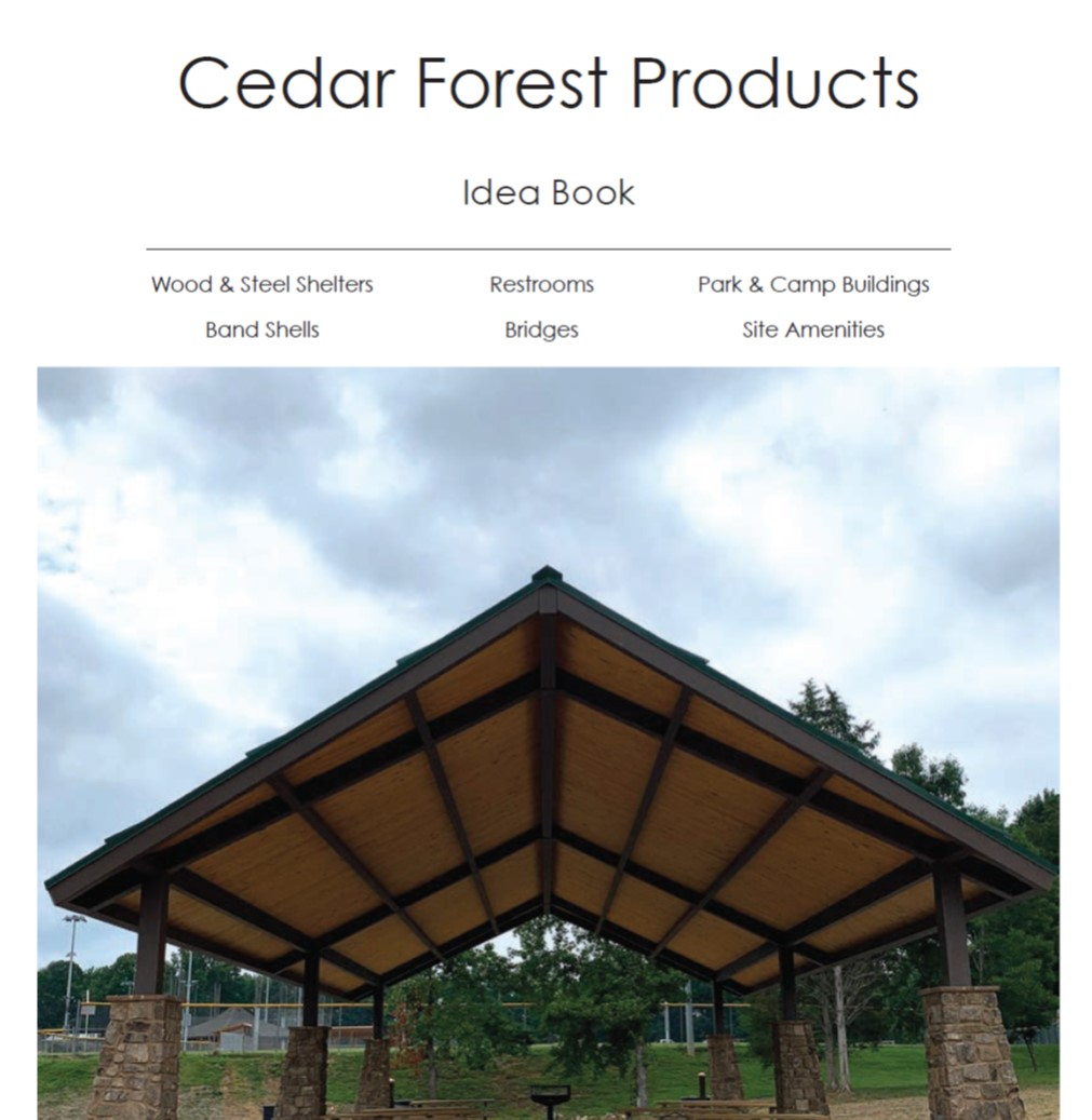 2020 Cedar Forest Products Idea Book Image