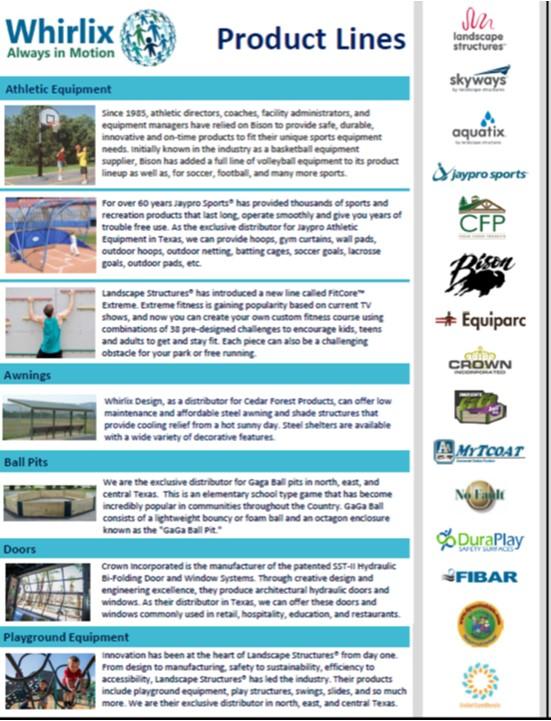 Product Line Sheet Image