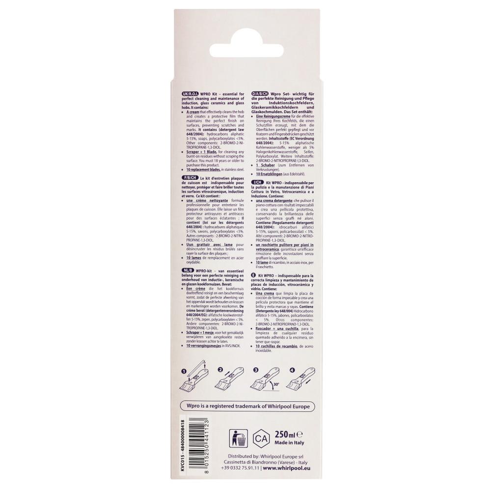 kit nettoyant plaque vitroceramique