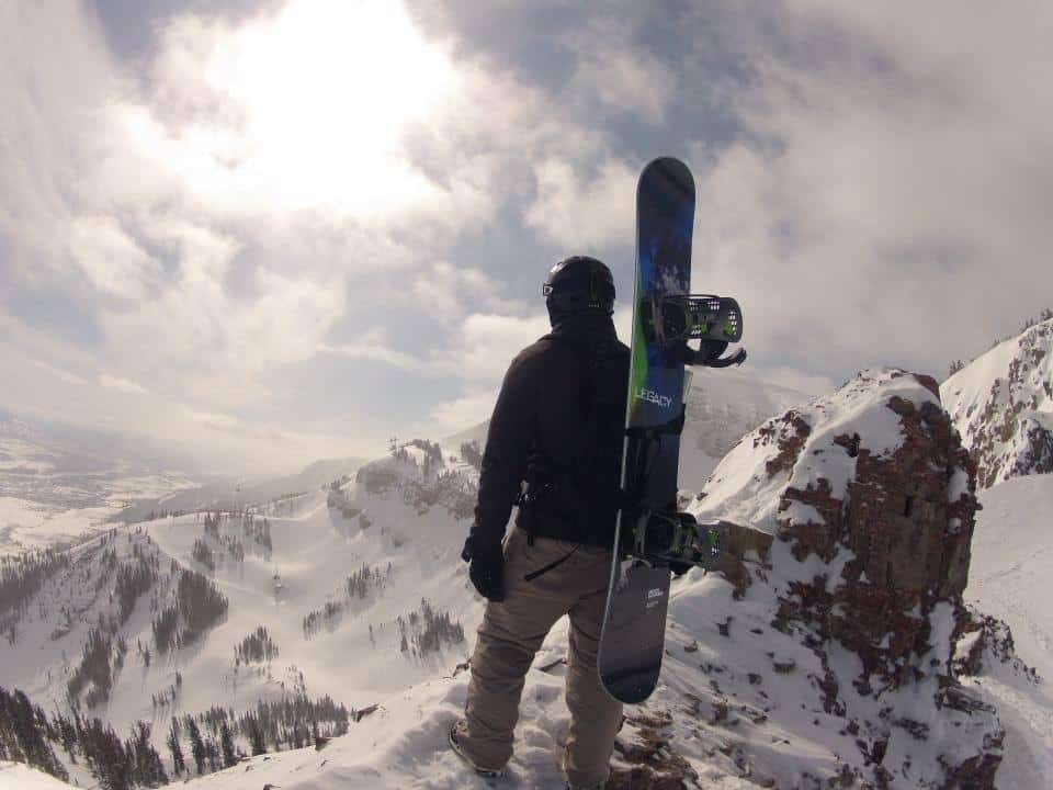 board sport training for snowboarder