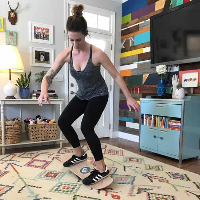 Practice on your whirly board at home