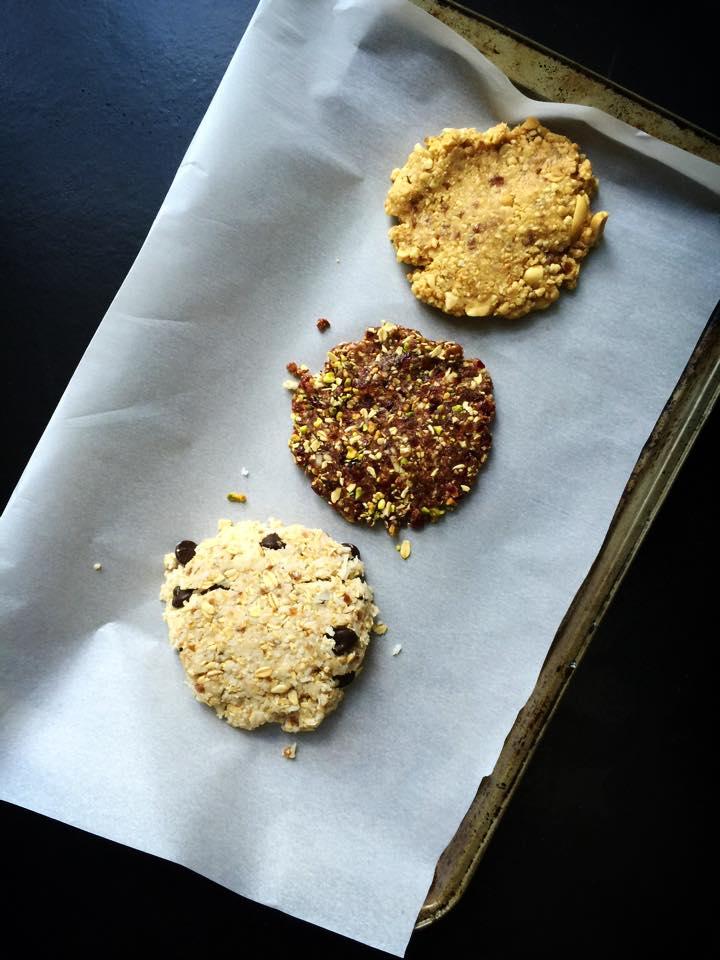 Jumbo Raw/GF/Vegan Cookies, 3 Ways! | Whisk and Shout