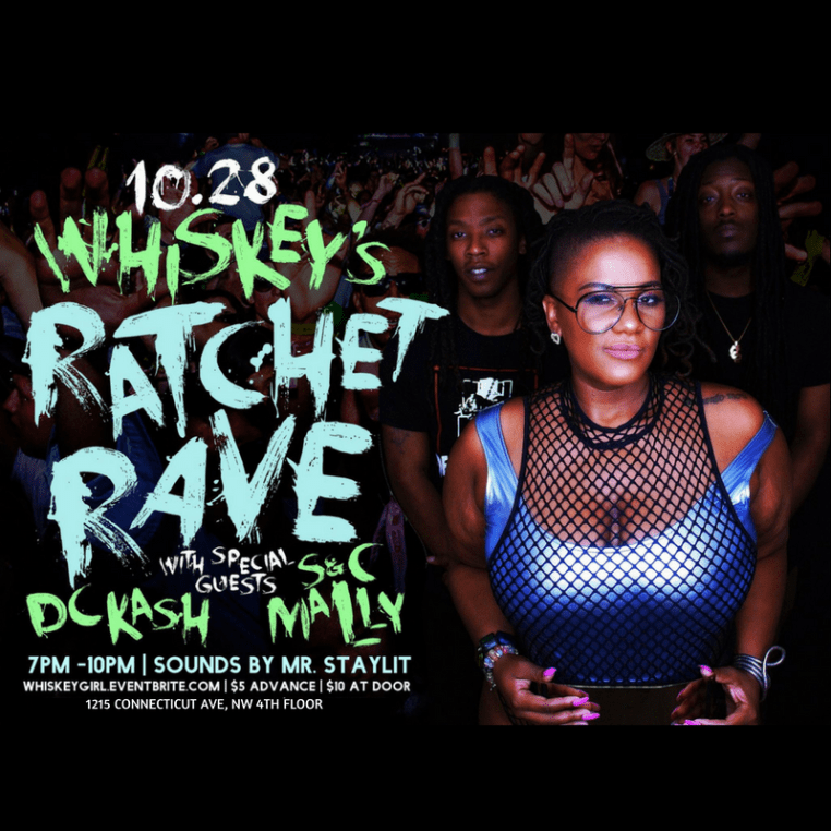 Whiskey's Ratchet Rave: w/ DC Kash and S&C Mally @ Jordin's Paradise Dance Studio | Washington | District of Columbia | United States