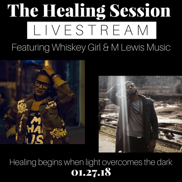 The Healing Session Livestream with M Lewis Music @ Private Location