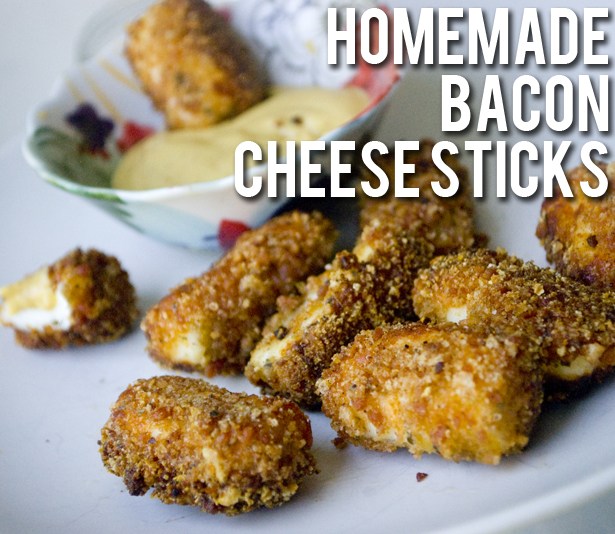 Homemade Bacon Cheese Sticks Recipe