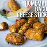 Homemade Bacon Cheese Sticks Recipe