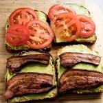 Bacon Avocado and Tomato Sandwich