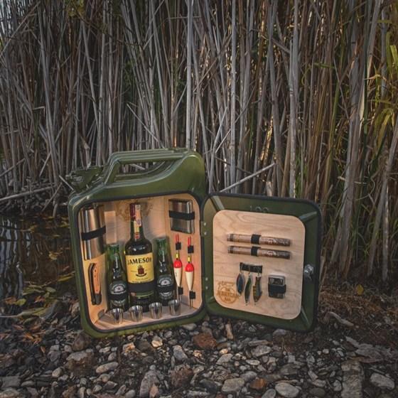 Minibar för fiskeentusiasten