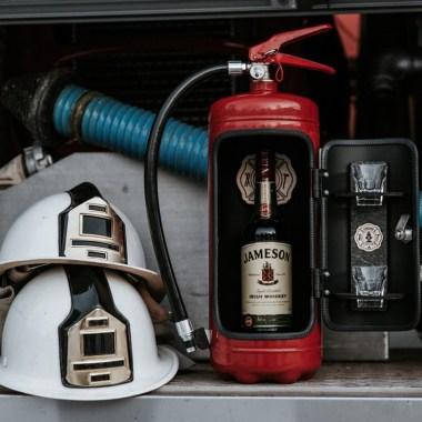 Brandsläckare och Minibar