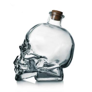 Liquor Skull Decanter