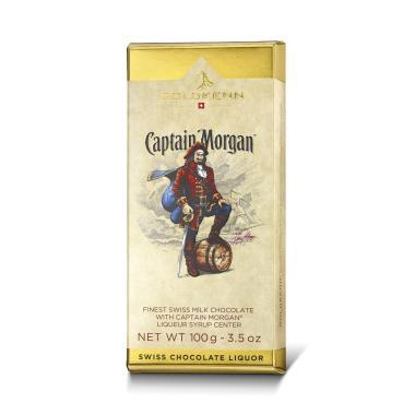 Choklad fylled med Captain Morgan Rom