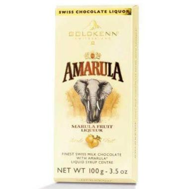 Chokladkaka fylld med Amarula