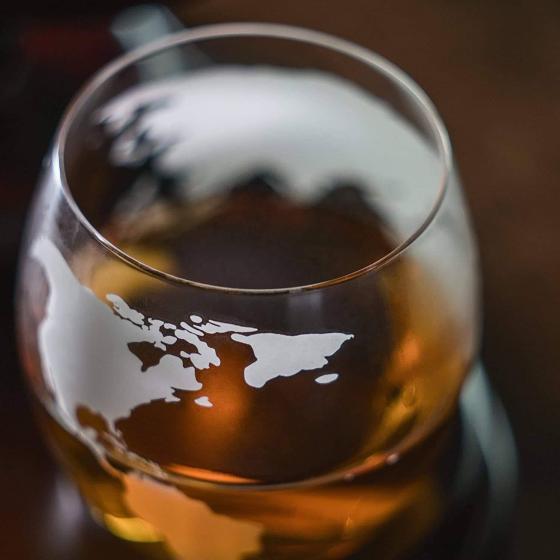 Globe Whiskeyglas