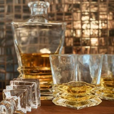Whiskeykaraff set - Ewing med 6st glas