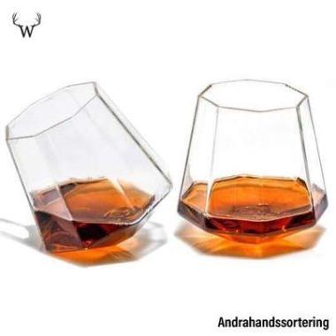 Whiskeyglas Diamond - Andrahands sortering