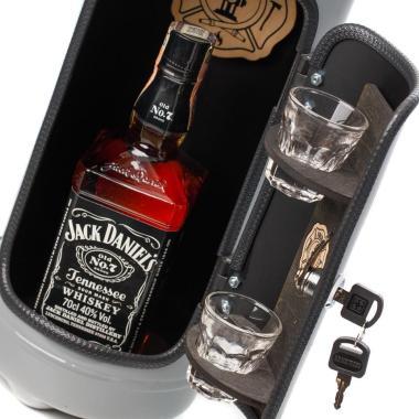 Portabel Minibar Brandsläckare - Firebar Grey