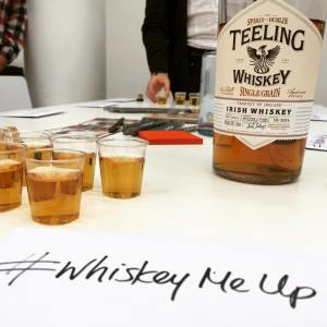 Teeling Single Grain and Whiskey Me Up