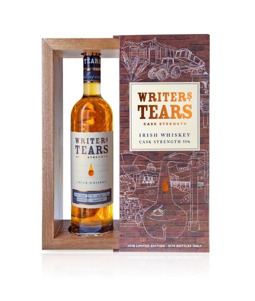 Writers Tears 2018 Cask Strength Irish Whiskey Trail