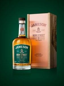 jameson bow street 18 years cask strength irish whiskey