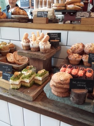 Cakes @ Tom's deli, Somerset House