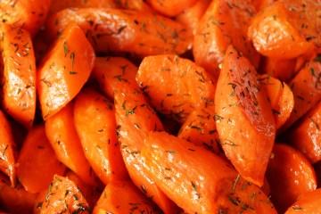 Dill Roasted Carrots