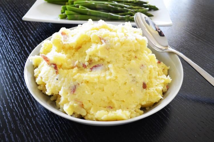 Gouda Mashed Potatoes