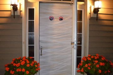 Halloween MUMMY Door