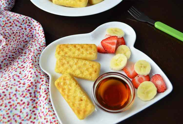 Easy Waffle Dippers