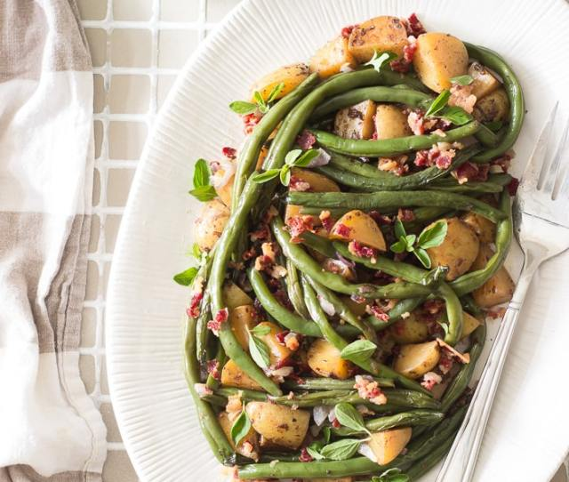 Green Beans And Potatoes With Bacon