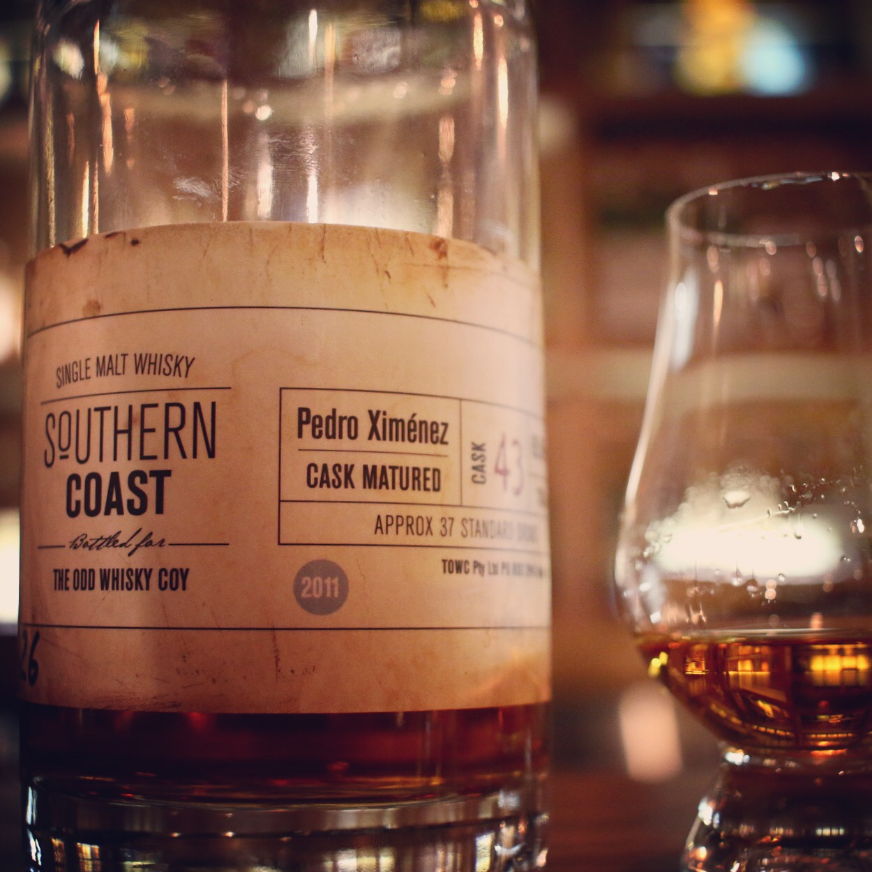 Dram Review: The Odd Whisky Coy Southern Coast Cask 43