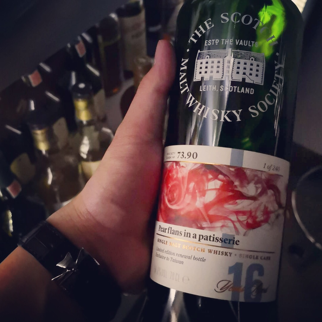 """Dram Review: SMWS 73.90 Aultmore """"Pear Flans in a Patisserie"""""""
