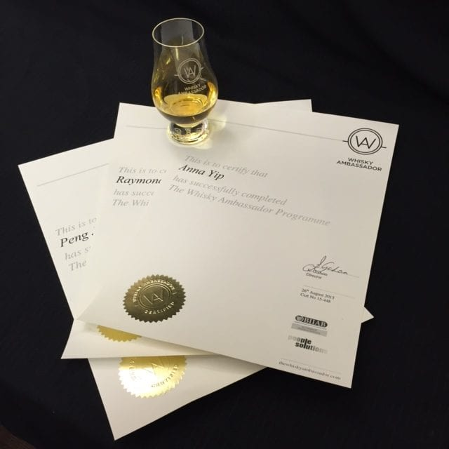 Become Whiskey certified: Whisky Ambassador Full day accredited Course