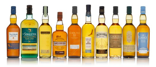 Diageo Special Releases 2018 lineup