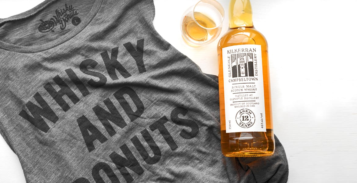 Dram-A-Queen Womens Tank Landing - Whisky and Donuts