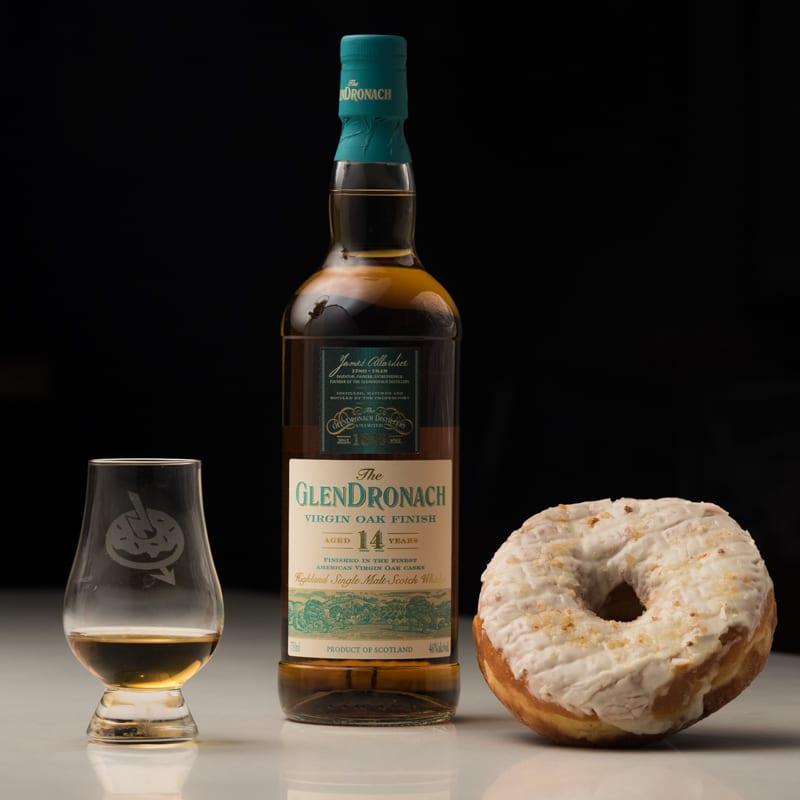 Glendronach 14 Virgin Oak | Pineapple Donut Bar - Whisky and Donuts™