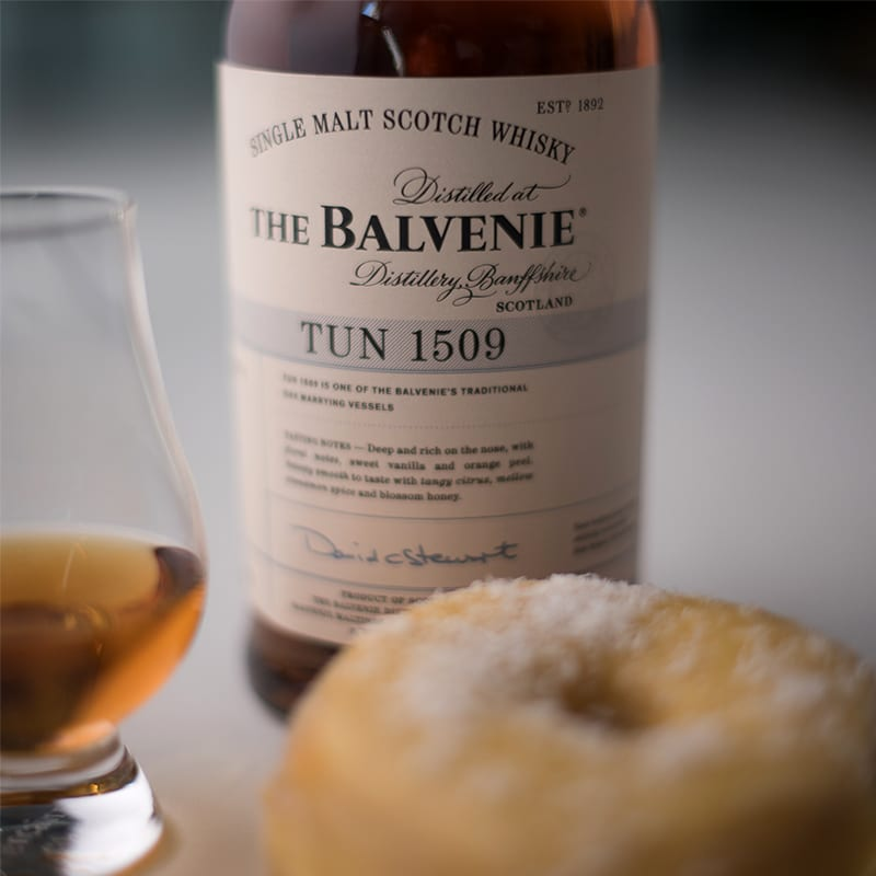 Balvenie Tun 1509 & Mango Coconut - Whisky and Donuts - WhiskyAndDonuts.com