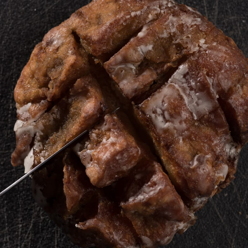 Highland Park Valkyrie | Pear And Lavender Fritter - Whisky And Donuts - WhiskyAndDonuts.com