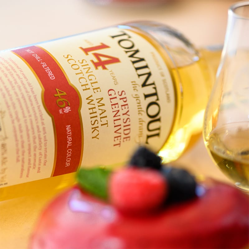Tomintoul 14YO | Vegan Triple Berry - Whisky And Donuts - WhiskyAndDonuts.com