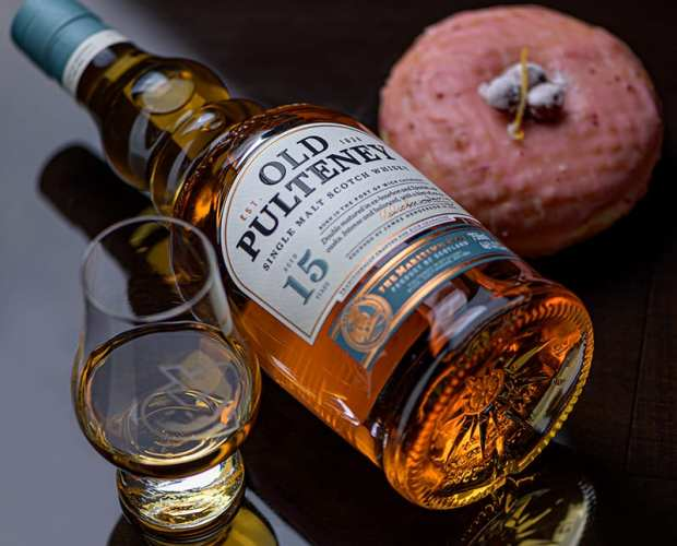 Old Pulteney 15 | Cranberry Orange - Whisky And Donuts - WhiskyAndDonuts.com