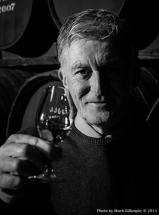Retired Midleton Distillery Master Distiller Barry Crockett. Photo ©2011 by Mark Gillespie.