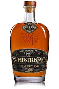 WhistlePig TripleOne Rye Whiskey.
