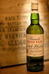 Stand Fast Blended Scotch Whisky. Image courtesy William Grant & Sons.