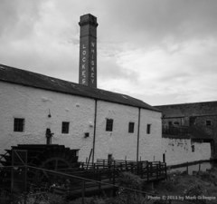 The Kilbeggan Distillery in Kilbeggan, Ireland. Photo © 2013 by Mark Gillespie.